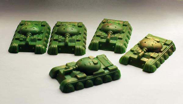 Мыло ручной работы танк